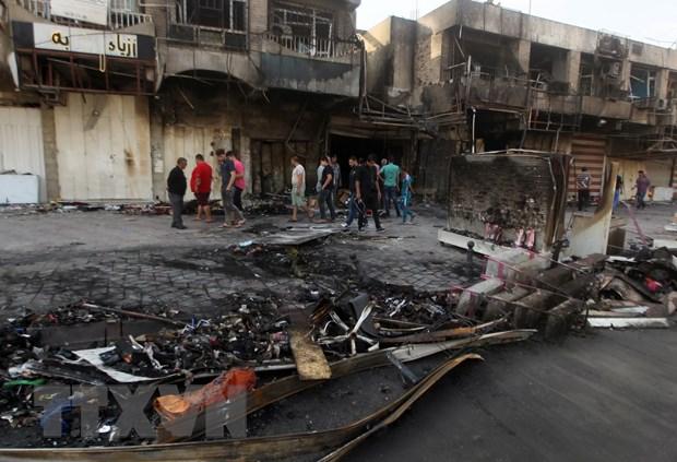 Danh bom lieu chet va giao tranh tai Iraq lam 26 nguoi chet hinh anh 1