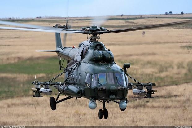 Roi truc thang Mi-8 tai Nga, it nhat 8 nguoi thiet mang hinh anh 1