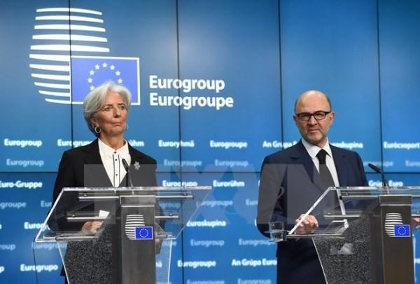 Cac Bo truong tai chinh Eurozone hop khan cap lan 3 ve Hy Lap hinh anh 1