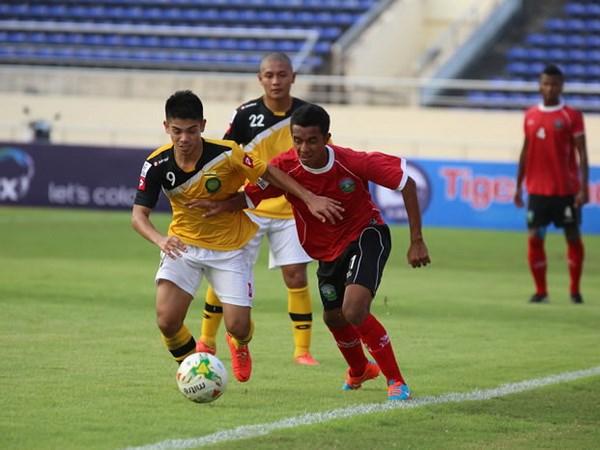 Timor-Leste bat ngo dung dau vong loai AFF Suzuki Cup 2014 hinh anh 1