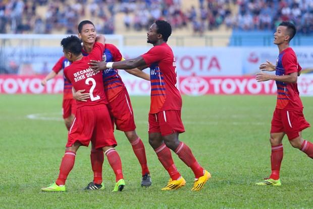 De bep nha vo dich Myanmar, Binh Duong xung vuong Mekong Cup 2014 hinh anh 1