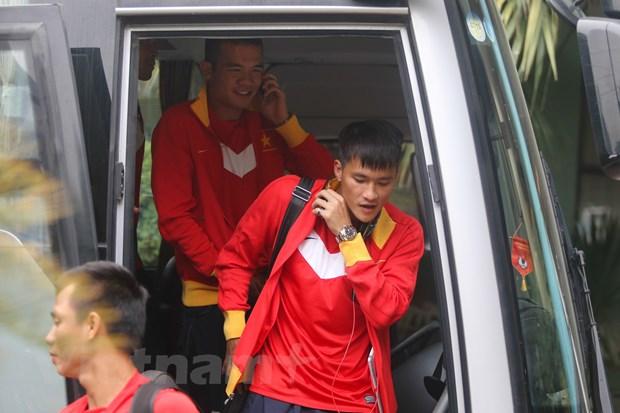 Tuyen Viet Nam: Tro ve Ha Noi, huong toi AFF Suzuki Cup 2014 hinh anh 1