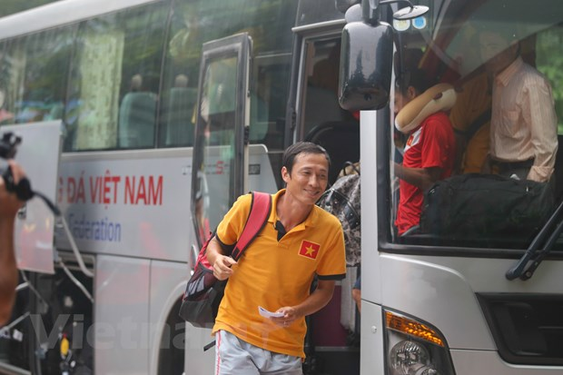 Tuyen Viet Nam: Tro ve Ha Noi, huong toi AFF Suzuki Cup 2014 hinh anh 3