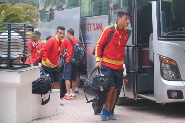 Tuyen Viet Nam: Tro ve Ha Noi, huong toi AFF Suzuki Cup 2014 hinh anh 5