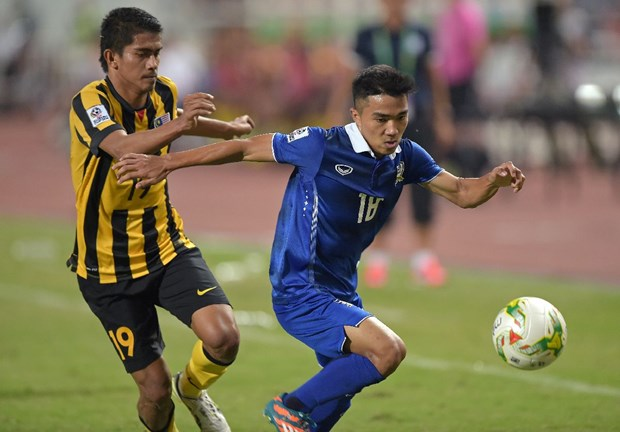 "[Video] ""Messi Thai"" ruc sang, Malaysia tham bai o Rajamangala hinh anh 1"