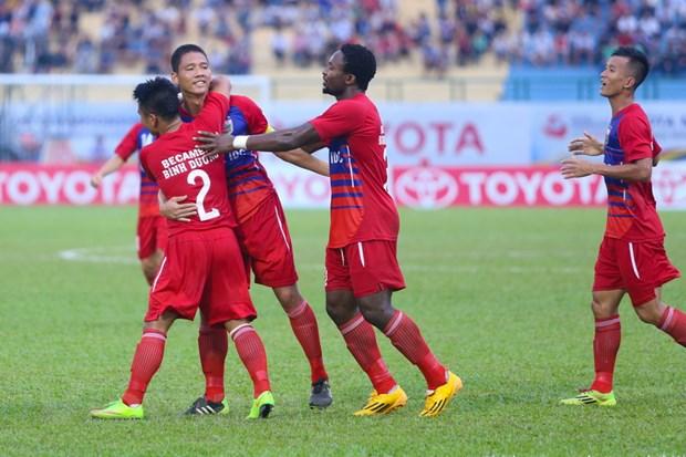 Cong Vinh vang mat, Binh Duong van gianh Sieu Cup quoc gia 2014 hinh anh 1