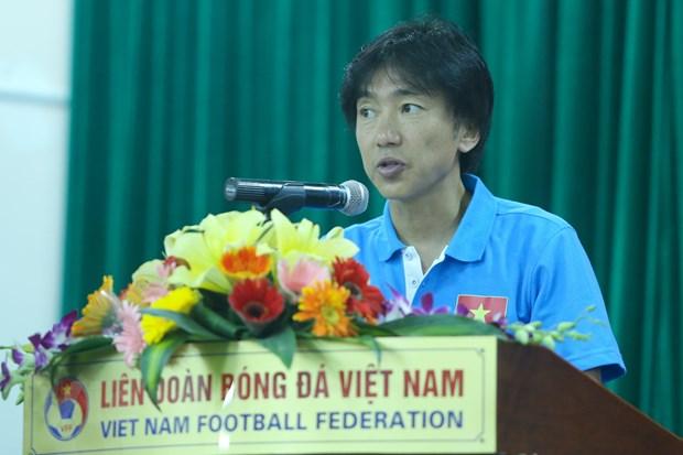 Huan luyen vien Miura tuyen bo muon Olympic Viet Nam danh bai Nhat Ban hinh anh 1