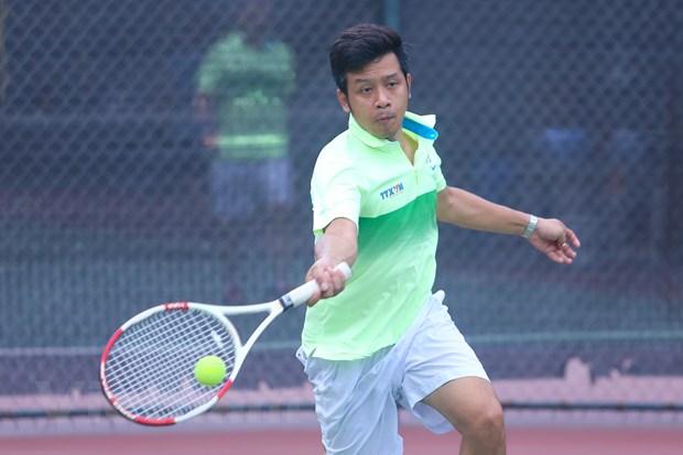 Khai mac giai Tennis Thong tan xa Viet Nam mo rong 2015 hinh anh 3