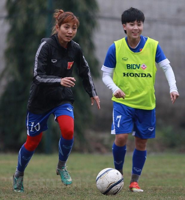 [Photo] Tuyen nu Viet Nam miet mai chuan bi cho giac mo Olympic hinh anh 3