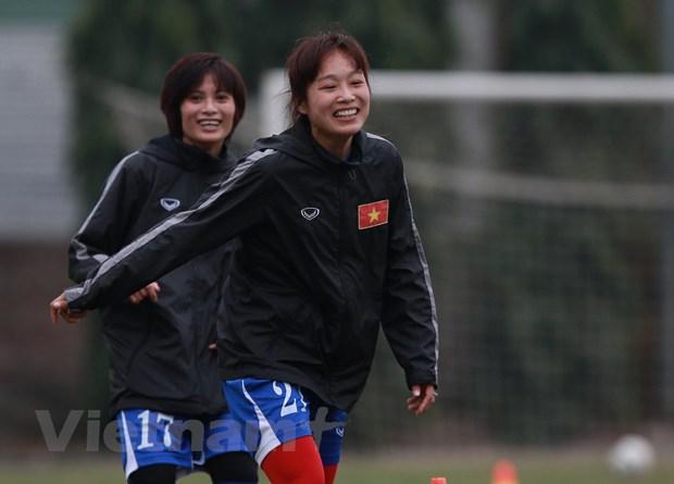 [Photo] Tuyen nu Viet Nam miet mai chuan bi cho giac mo Olympic hinh anh 5