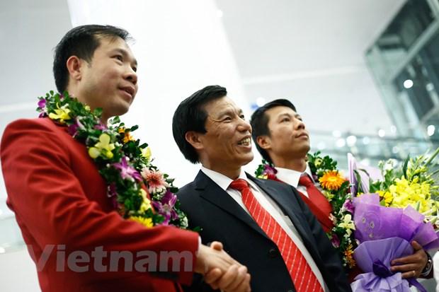 """Chien thang cua Hoang Xuan Vinh truyen cam hung cho ca dan toc"" hinh anh 1"