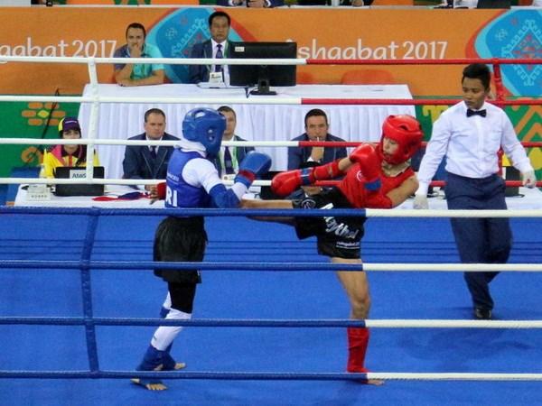 Bui Yen Ly doat huy chuong vang Muay Thai o AMIG 2017 hinh anh 1