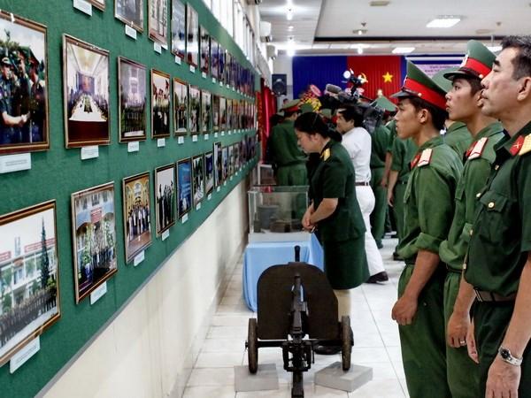 Ky ket hop tac hai Bo Quoc phong Viet Nam va Campuchia hinh anh 1