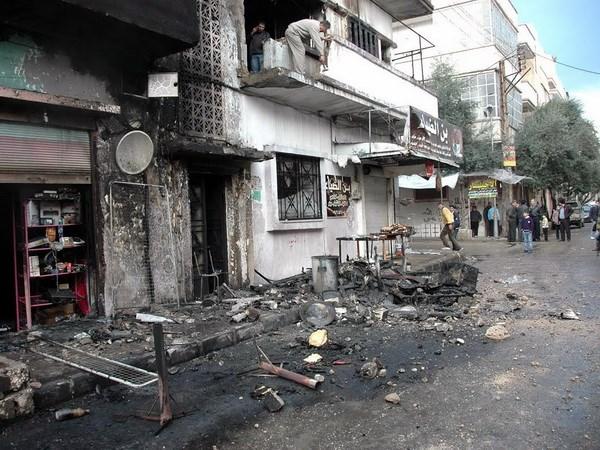 Syria cho phep phu nu, tre em roi khu vuc giao tranh o Homs hinh anh 1