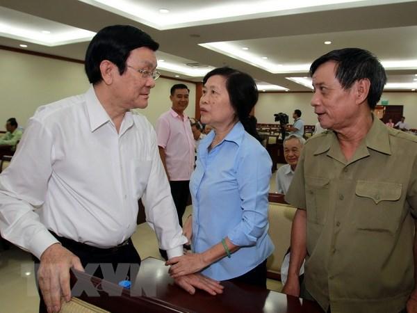 Chu tich nuoc: Moi nguoi dan phai that binh tinh, sang suot hinh anh 1