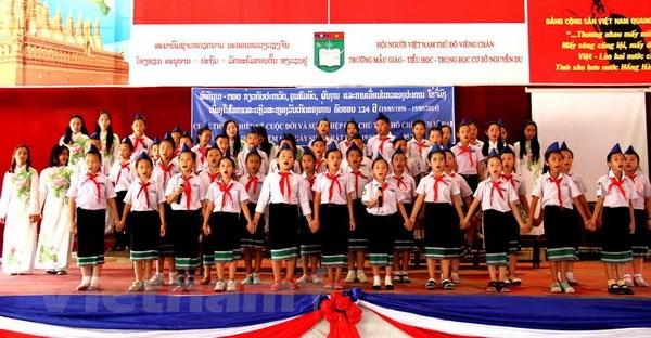 Ky niem ngay sinh Chu tich Ho Chi Minh tai Campuchia, Lao hinh anh 2