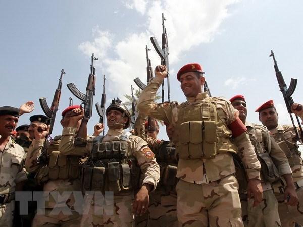 Iraq chinh thuc de nghi quan doi My khong kich phien quan ISIL hinh anh 1