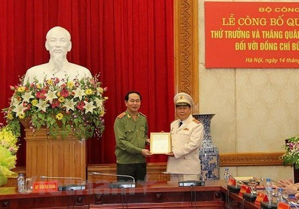 Bo nhiem tien sy Bui Van Thanh lam Thu truong Bo Cong an hinh anh 1