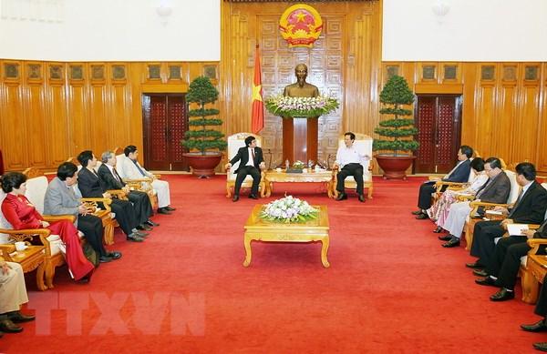 Thu tuong tiep lanh dao Hoi Quy hoach Phat trien do thi Viet Nam hinh anh 1