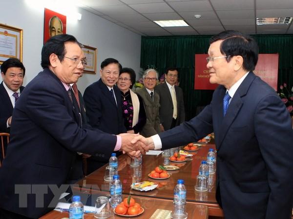 Chu tich nuoc tham Hoi Cuu Thanh nien xung phong Viet Nam hinh anh 1
