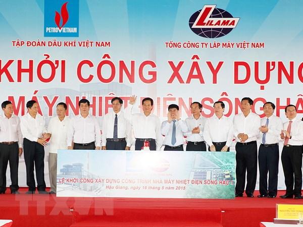 Khoi cong xay dung cong trinh nha may nhiet dien Song Hau 1 hinh anh 1