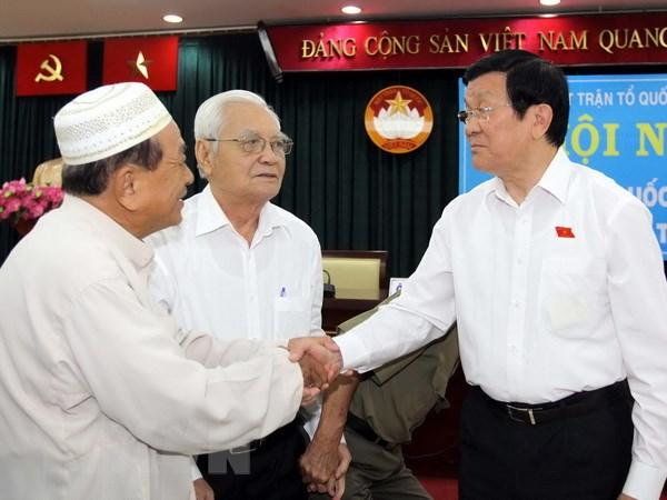 Chu tich nuoc: Co mot bo phan khong nho can bo