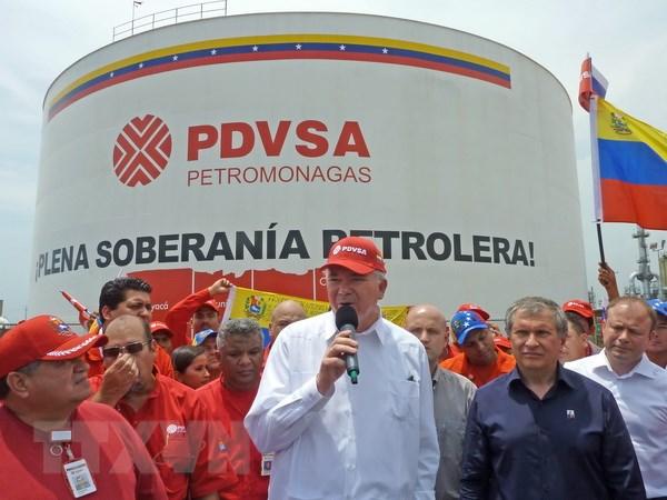 Venezuela va Nga tang cuong hop tac trong linh vuc dau khi hinh anh 1