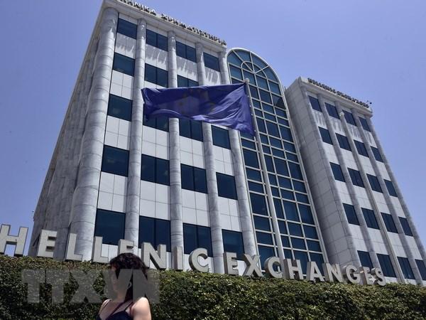 ECB nang tran quy thanh khoan khan cap cho ngan hang Hy Lap hinh anh 1