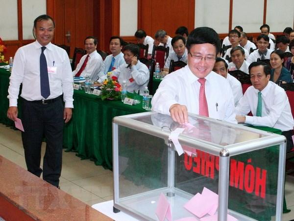 Khai mac Dai hoi dai bieu Dang bo Bo Ngoai giao nhiem ky 2015-2020 hinh anh 1