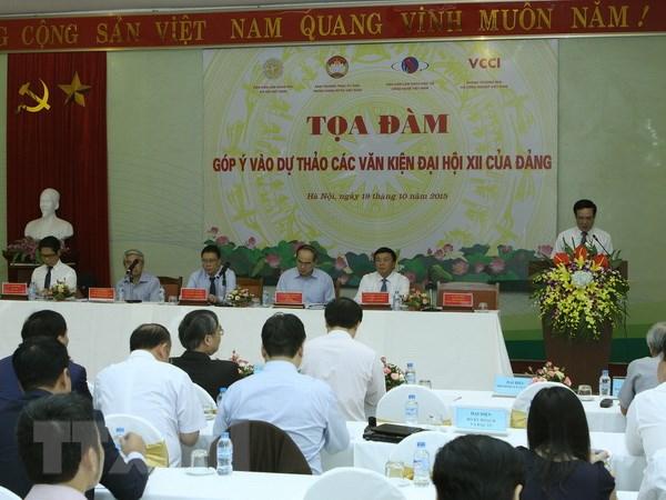 Toan dan gop y van kien du thao Dai hoi XII: Dang that su vi dan hinh anh 1