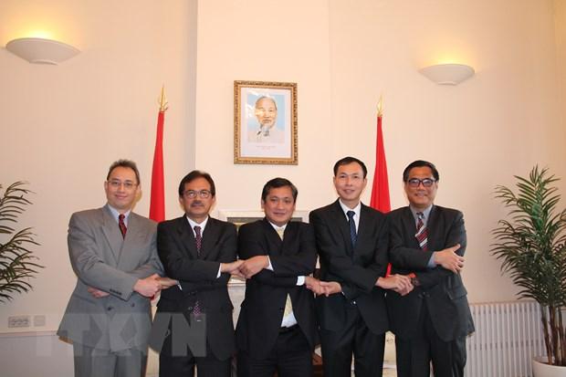 Viet Nam la chu tich luan phien dau tien cua Uy ban ASEAN tai La Hay hinh anh 1