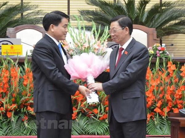 Ong Nguyen Duc Chung lam Chu tich UBND thanh pho Ha Noi hinh anh 1