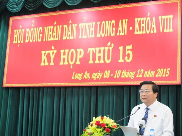 Ong Pham Van Ranh duoc bau la Chu tich HDND tinh Long An hinh anh 1