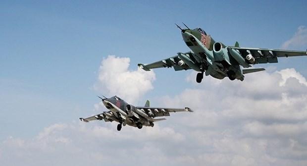 Khong quan Nga, Syria lan dau tien phoi hop khong kich khung bo hinh anh 1