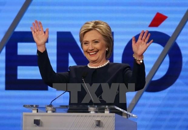 Ba Hillary Clinton tiep tuc chien thang tai bang Illinois hinh anh 1