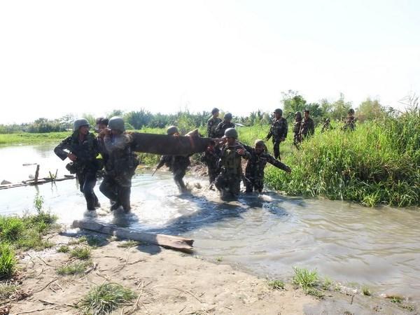 Nga, Philippines tang cuong hop tac trong linh vuc quoc phong hinh anh 1