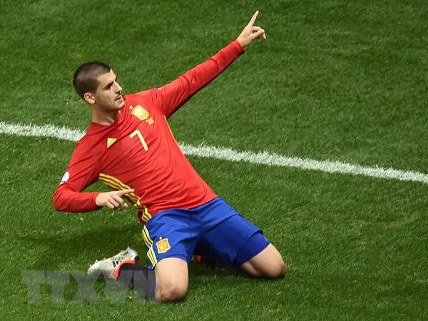 Tiet lo nguyen nhan giup Alvaro Morata ghi ban cho Tay Ban Nha hinh anh 1