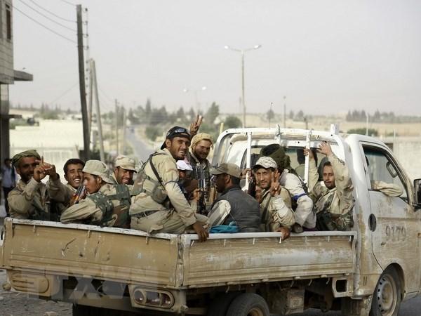 Syria: Luc luong do My hau thuan cho IS