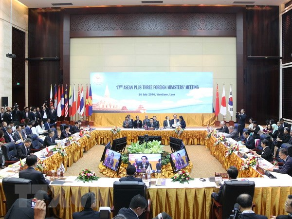 Hoi nghi Bo truong Ngoai giao ASEAN+3 va Hoi nghi Dong A hinh anh 1