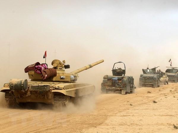 Luc luong Iraq dat buoc tien nhanh trong viec giai phong Mosul hinh anh 1