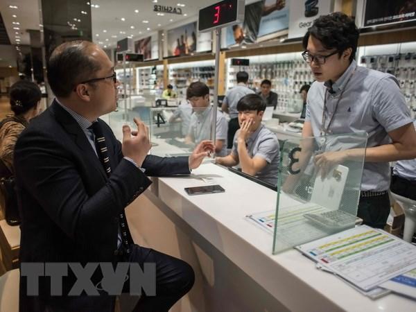 Hang tram nguoi dung Galaxy Note 7 tai Han Quoc kien Samsung hinh anh 1