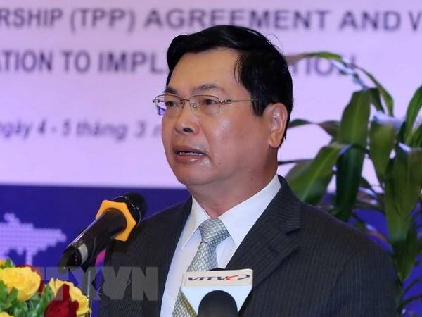 Ban Bi thu Trung uong Dang ky luat nguyen Bo truong Vu Huy Hoang hinh anh 1