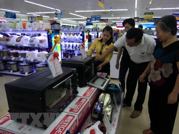 500 doanh nghiep tham gia thang khuyen mai Ha Noi 2016 hinh anh 1