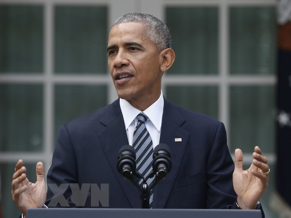 Tong thong My Obama bat dau chuyen cong du nuoc ngoai cuoi cung hinh anh 1