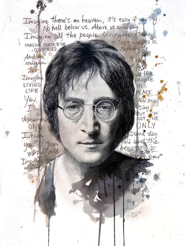 John Lennon - Chien tranh qua di, con tinh yeu o lai hinh anh 1