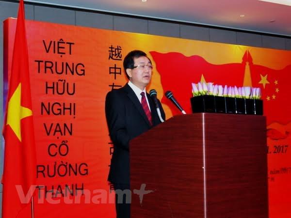Ky niem 67 nam thiet lap quan he Viet-Trung tai Quang Chau hinh anh 1