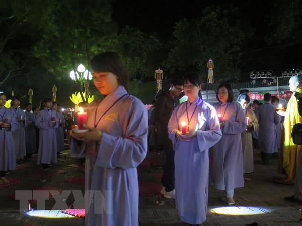 Le Lien Hoa Hoi Thuong chua Con Son cau nguyen quoc thai, dan an hinh anh 1