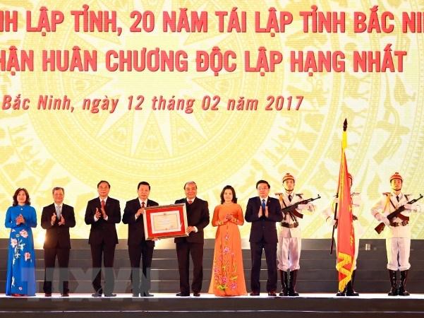 Le Ky niem 185 nam thanh lap va 20 nam tai lap tinh Bac Ninh hinh anh 1