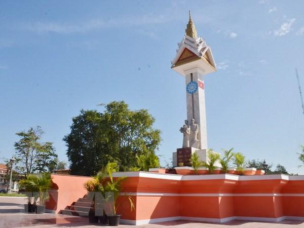 Hoan thanh trung tu Dai huu nghi Viet Nam-Campuchia tai tinh Takeo hinh anh 1