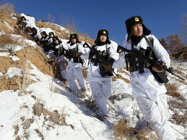 Trung Quoc bac tin quan doi nuoc nay tuan tra tai Afghnistan hinh anh 1